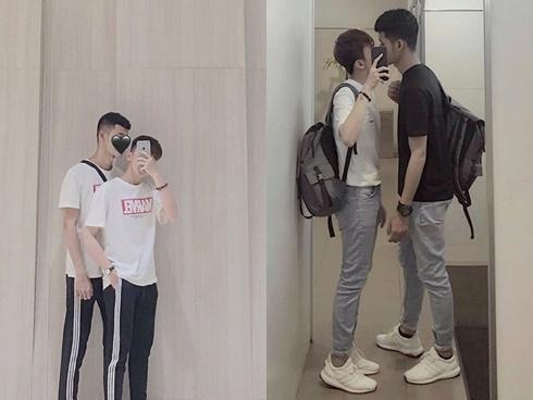 Công khai hôn nhau giữa sân trường, cặp đồng tính nam nhận về phản ứng bất ngờ từ bạn bè-2