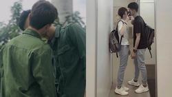 Công khai hôn nhau giữa sân trường, cặp đồng tính nam nhận về phản ứng bất ngờ từ bạn bè