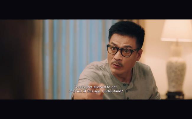 Liên Bỉnh Phát toát mồ hôi khi Hoàng Yến Chibi thông báo có bầu trong phim mới-2