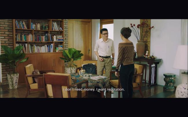 Liên Bỉnh Phát toát mồ hôi khi Hoàng Yến Chibi thông báo có bầu trong phim mới-5