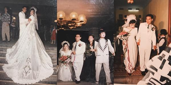 Khoe ảnh cưới thời bố mẹ em, cô gái Hải Phòng khiến dân tình trầm trồ với độ chịu chơi của đấng sinh thành-3