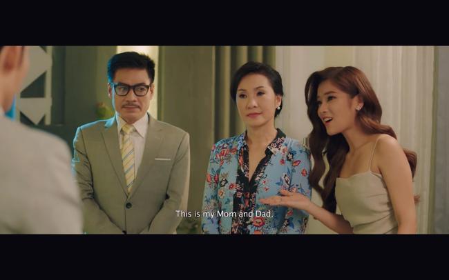 Liên Bỉnh Phát toát mồ hôi khi Hoàng Yến Chibi thông báo có bầu trong phim mới-6