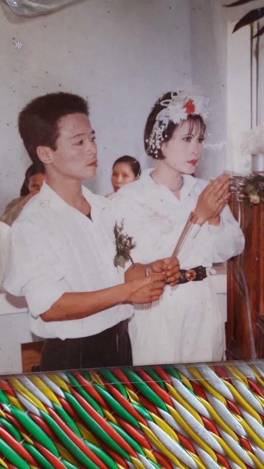 Khoe ảnh cưới thời bố mẹ em, cô gái Hải Phòng khiến dân tình trầm trồ với độ chịu chơi của đấng sinh thành-11
