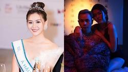 Á hậu Tường San mặc nội y, diễn gợi cảm trong MV thời chưa nổi