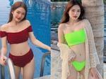 Mặc bikini tạo dáng trước bức tượng trong công viên nước của Việt Nam, hot girl đình đám bất ngờ bị ném đá dữ dội-7