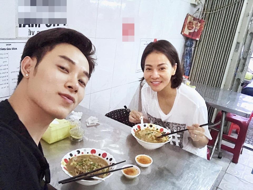 Hoa hậu Kỳ Duyên cảm thấy xa xôi như chưa từng quen dù đang ngồi cạnh Minh Triệu-7