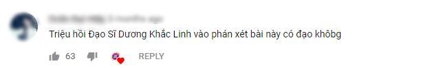 Như 1 thói quen, cứ ca sĩ nào bị dính nghi án đạo nhạc, cộng đồng mạng lại triệu hồn Dương Khắc Linh đầu tiên-5