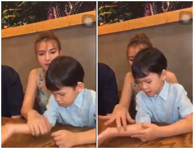Chồng trẻ Thu Thủy bị tố đối xử không tốt, lén cấu con riêng của vợ ngay trên sóng livestream-2