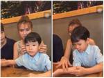 Thu Thủy cập nhật màn hình đen thay thế hình ảnh gia đình hạnh phúc giữa scandal chồng bạo hành con riêng-7