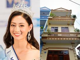 Mẹ là Giám đốc Kho bạc, gia đình Hoa hậu Lương Thùy Linh sống giản dị