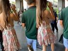 Phơi cả vòng một nơi công cộng, thiếu nữ trẻ khiến dân mạng ngán ngẩm với kiểu thời trang khoét xẻ tùm lum