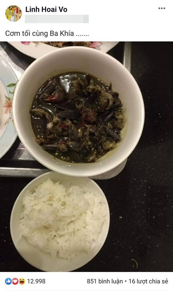 Vẫn biết Hoài Linh không thích sơn hào hải vị, nhưng nhìn bữa cơm toàn mắm của danh hài ai nấy vẫn xót xa-1
