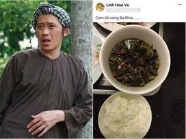 Vẫn biết Hoài Linh không thích sơn hào hải vị, nhưng nhìn bữa cơm toàn mắm của danh hài ai nấy vẫn xót xa