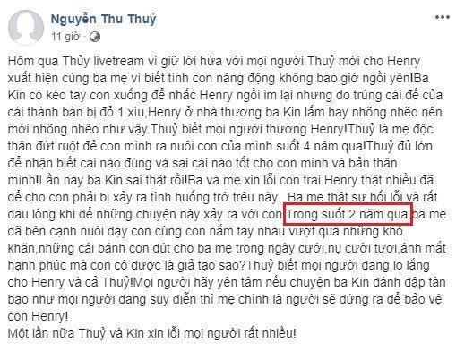 Dân mạng bóc phốt Kin Nguyễn đang yêu Thu Thủy vẫn chơi gameshow phản cảm với tình cũ, còn nói dối sống đời độc thân-1