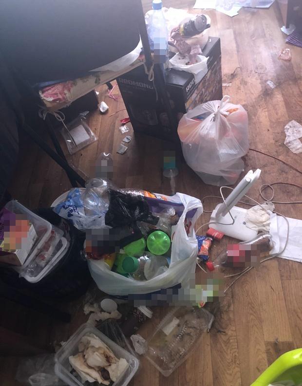 Đỉnh cao ở bẩn, dân mạng thắc mắc: Các cô gái này đã biến phòng trọ thành bãi rác bằng cách nào?-1