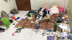 'Đỉnh cao' ở bẩn, dân mạng thắc mắc: 'Các cô gái này đã biến phòng trọ thành bãi rác bằng cách nào?'