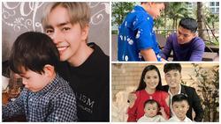 Là bố dượng nhưng Ưng Hoàng Phúc và chồng trẻ Lê Phương được khen hết lời vì cách họ yêu thương con riêng của vợ