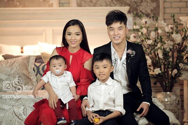 Là bố dượng nhưng Ưng Hoàng Phúc và chồng trẻ Lê Phương được khen hết lời vì cách họ yêu thương con riêng của vợ-3