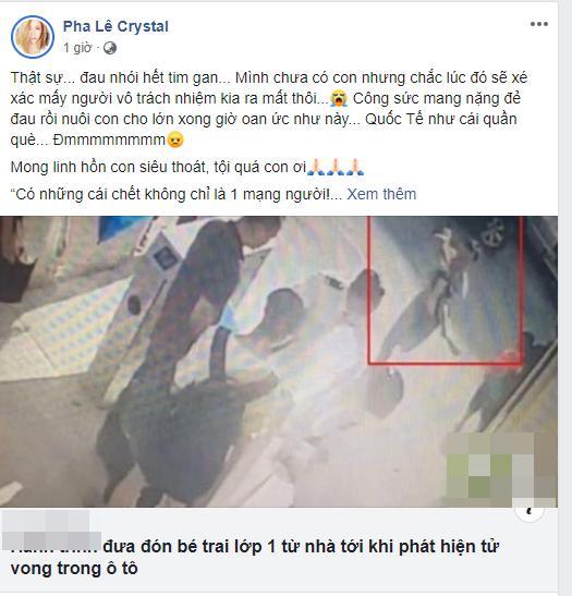 Sao Việt quặn thắt ruột gan trước câu chuyện bé trai 6 tuổi tử vong vì bị trường Gateway bỏ quên trên xe bus-4
