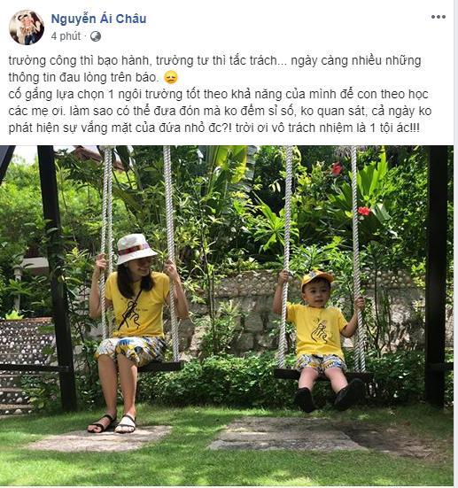 Sao Việt quặn thắt ruột gan trước câu chuyện bé trai 6 tuổi tử vong vì bị trường Gateway bỏ quên trên xe bus-6