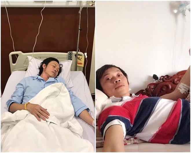 Nghệ sĩ Hoài Linh, Sơn Tùng và nhiều sao Việt kiệt sức vì chạy show-3