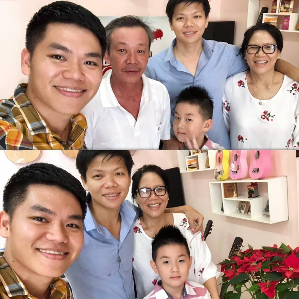 Là bố dượng nhưng Ưng Hoàng Phúc và chồng trẻ Lê Phương được khen hết lời vì cách họ yêu thương con riêng của vợ-10