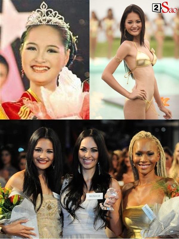 Nhan sắc Lương Thùy Linh đang đứng ở đâu trong dàn người đẹp Việt Nam thi Hoa hậu Thế giới?-8