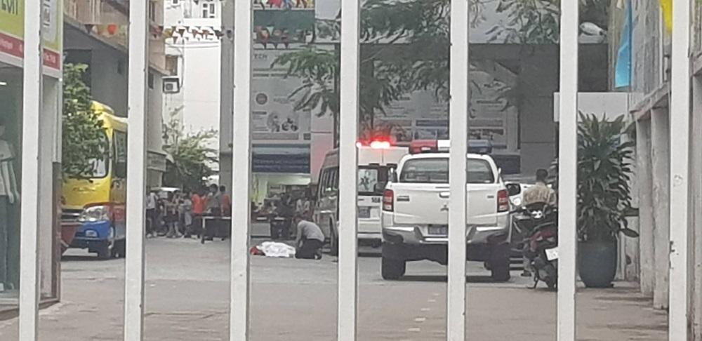 Nam sinh viên trường Đại học Hutech rơi lầu tử vong-1