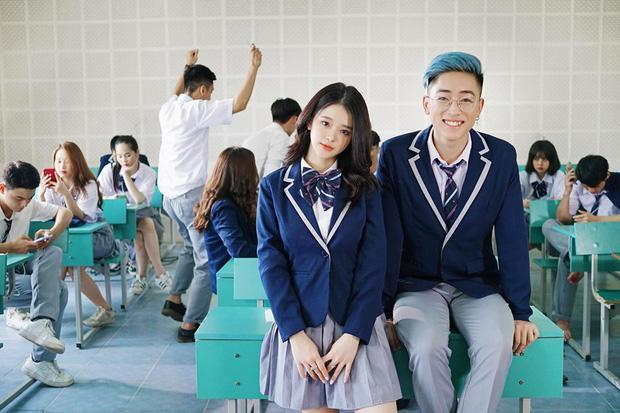 Gây sốt trong MV cover của Linh Ka chưa đủ, hotboy học đường khiến dân tình chao đảo với ảnh thẻ nhìn là muốn yêu-1