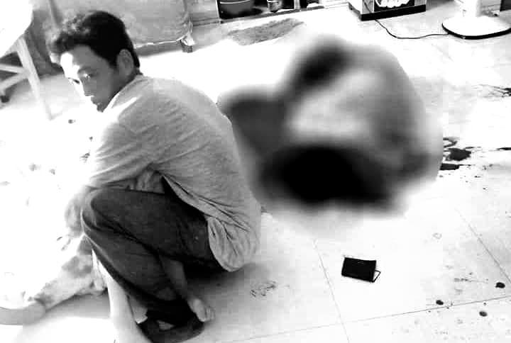 Cắt cổ vợ mới sinh con rồi tự tử, 2 vợ chồng ở Quảng Nam nguy kịch-1
