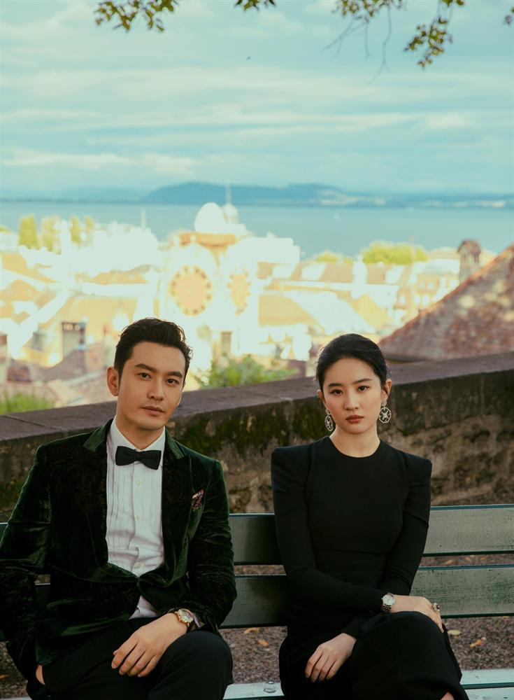 Cô Cô Lưu Diệc Phi khoe ảnh ngọt ngào cùng Dương Quá Huỳnh Hiểu Minh-1