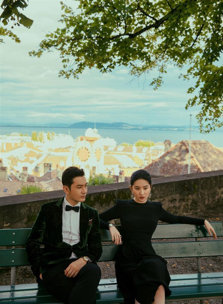 Cô Cô Lưu Diệc Phi khoe ảnh ngọt ngào cùng Dương Quá Huỳnh Hiểu Minh-4