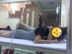 'Nóng mắt' cảnh cặp đôi ôm ấp nhau trên giường bệnh khi bạn trai bị sốt xuất huyết