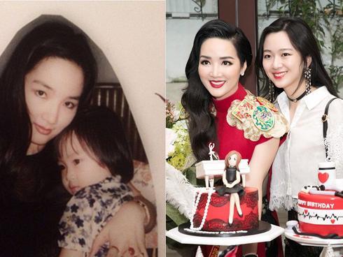 Khoe ảnh siêu đẹp mừng sinh nhật con gái, Hoa hậu Giáng My khiến ai nấy ngất ngây trước nhan sắc của Rich Kid Anh Sa-2