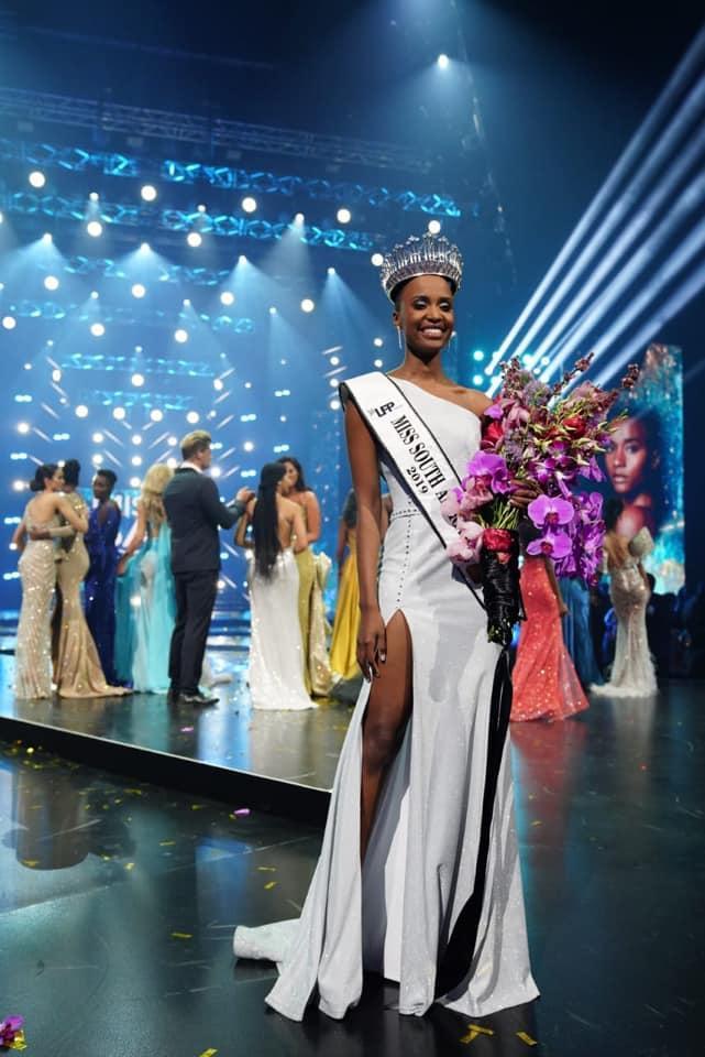 Lộ diện tân Hoa hậu Nam Phi: Nàng tomboy khiến Hoàng Thùy phải dè chừng tại Miss Universe 2019-3