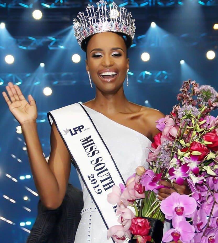 Lộ diện tân Hoa hậu Nam Phi: Nàng tomboy khiến Hoàng Thùy phải dè chừng tại Miss Universe 2019-2