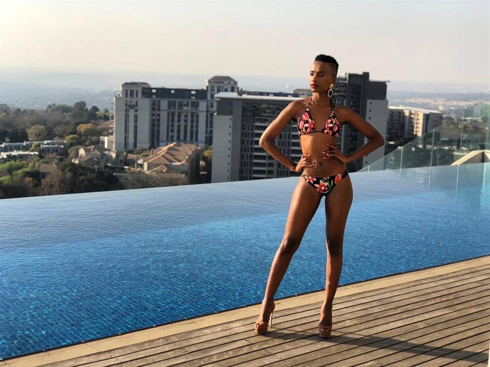 Lộ diện tân Hoa hậu Nam Phi: Nàng tomboy khiến Hoàng Thùy phải dè chừng tại Miss Universe 2019-5