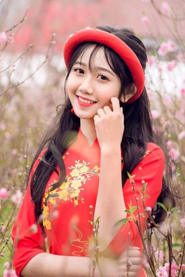 Nữ sinh 2K1 Lào Cai được dân mạng gọi là hot girl ảnh thẻ-9