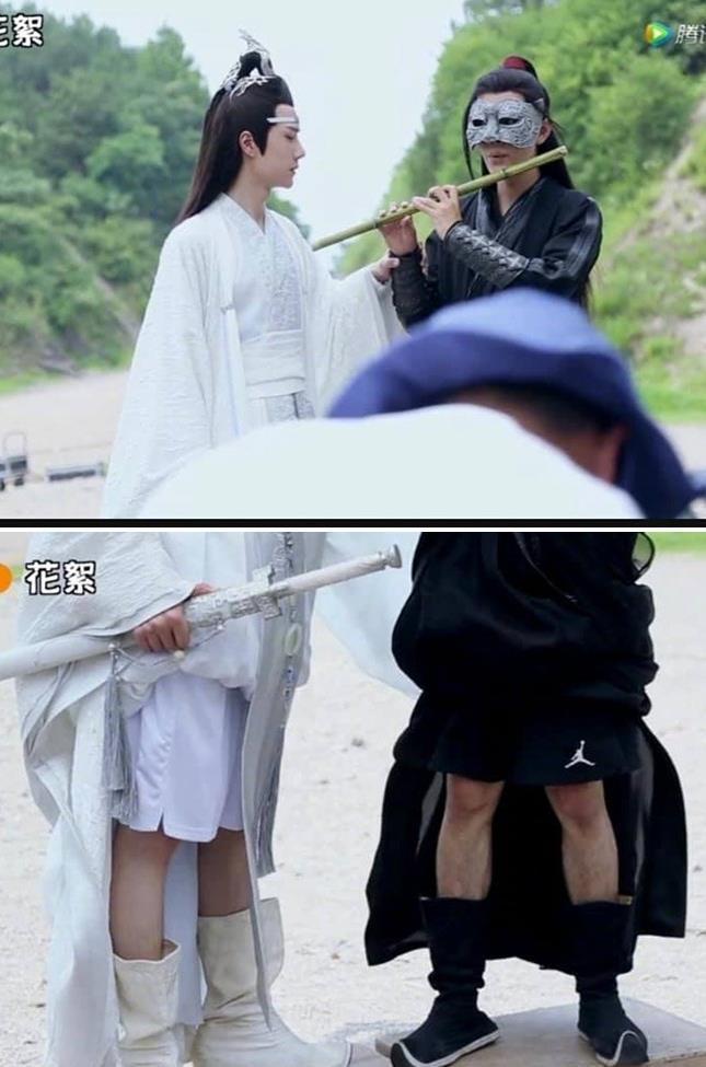 Hậu trường hài hước của phim truyền hình Trung Quốc-1