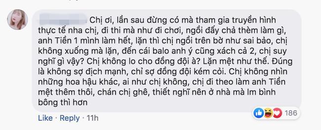 Dân mạng tấn công Facebook Đỗ Mỹ Linh, đòi loại khẩn cấp hoa hậu khỏi Cuộc đua kỳ thú để Lê Xuân Tiền chơi một mình-10