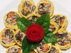 Công thức làm giò hoa thơm ngon khiến chồng lúc nào cũng mê cơm nhà