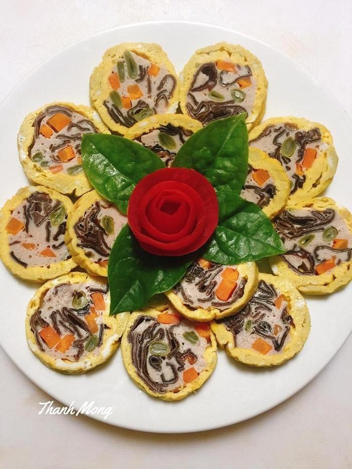 Công thức làm giò hoa thơm ngon khiến chồng lúc nào cũng mê cơm nhà-1