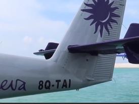 Thủy phi cơ độc nhất ở Maldives