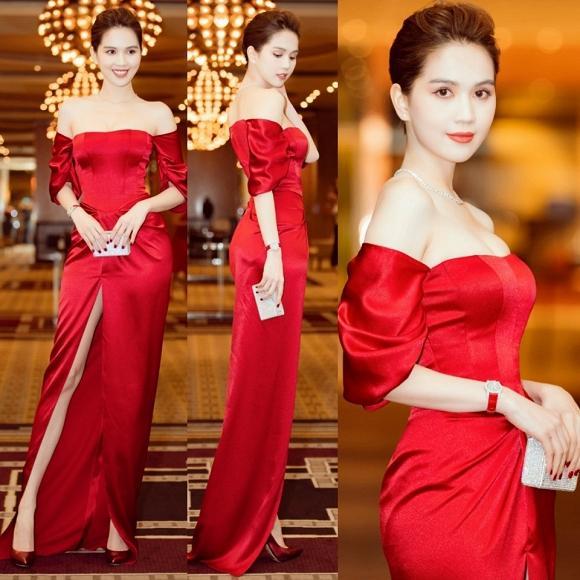 SAO MẶC ĐẸP: Đỗ Mỹ Linh - Tiểu Vy hóa chị em song sinh với đầm công chúa - Ngọc Trinh khoe body đẹp như tạc-1