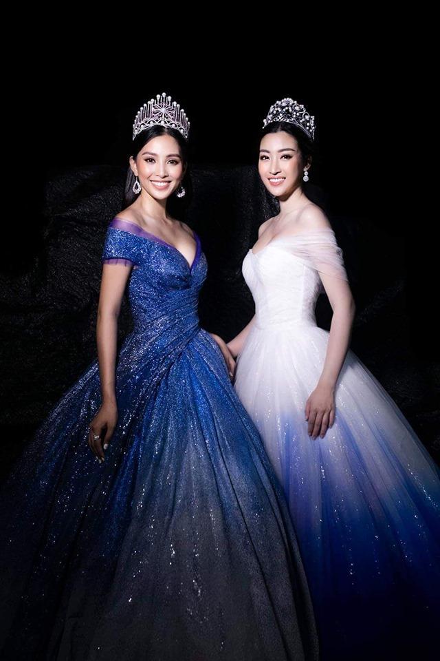 SAO MẶC ĐẸP: Đỗ Mỹ Linh - Tiểu Vy hóa chị em song sinh với đầm công chúa - Ngọc Trinh khoe body đẹp như tạc-8