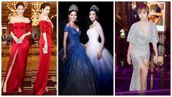SAO MẶC ĐẸP: Đỗ Mỹ Linh - Tiểu Vy hóa chị em song sinh với đầm công chúa - Ngọc Trinh khoe body đẹp như tạc