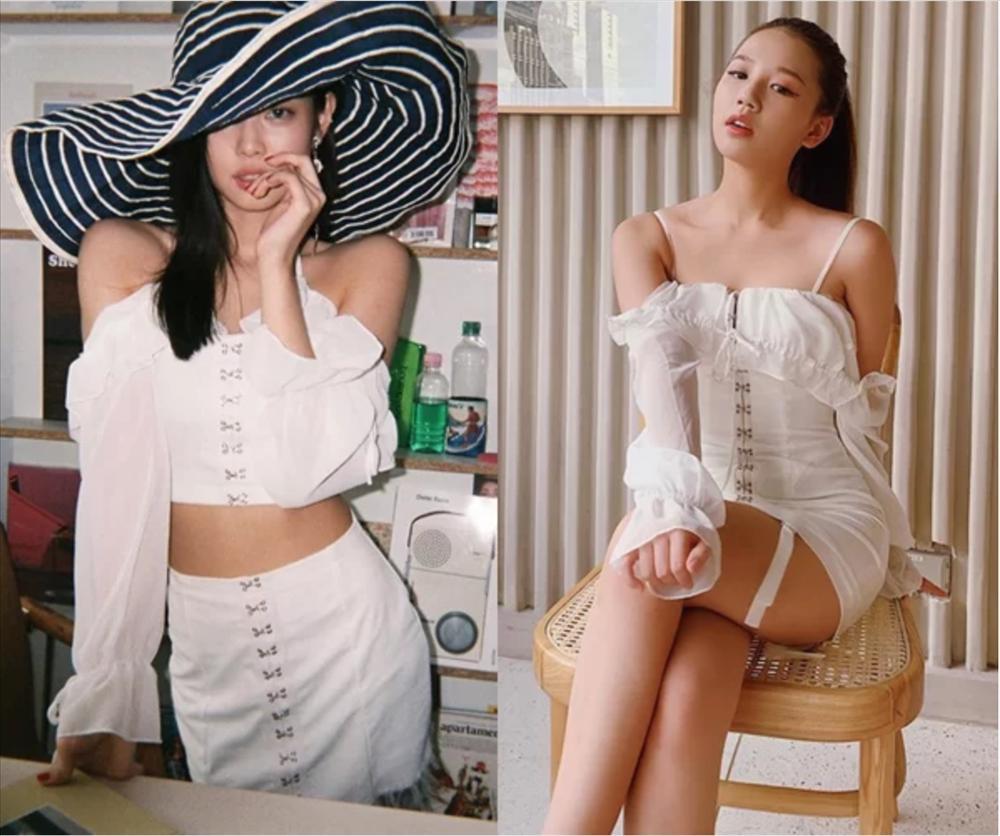 Amee nhiều lần mặc đồ giống hệt Jennie-1
