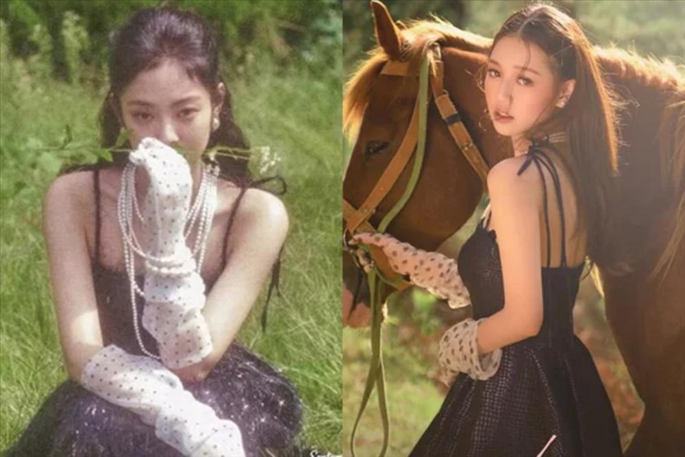 Amee nhiều lần mặc đồ giống hệt Jennie-2