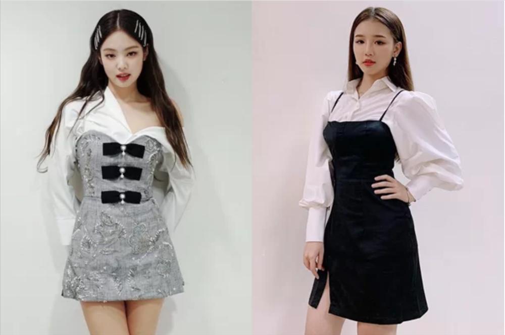 Amee nhiều lần mặc đồ giống hệt Jennie-4