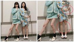 'Nữ thần' IU lộ đôi chân gầy guộc, bị 'dìm hàng' thê thảm khi chụp chung hình với cô bạn thân Sulli